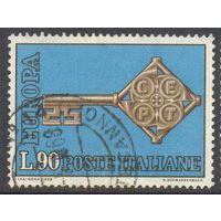 Италия Европа-Септ 1968 год