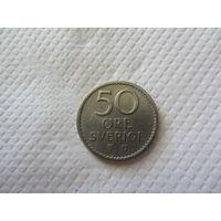 Швеция, 50 эре 1969.