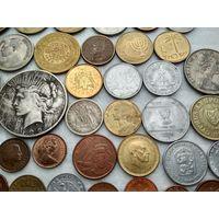 Сборный лот из 50 монет