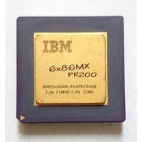 IBM 6x86MX PR200 socket 7 (реальное фото)