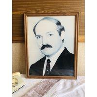 Портрет А.Г.Лукашенко в раме. формат А2