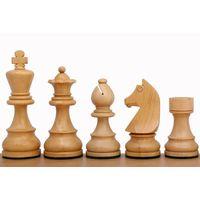Шахматы деревянные немецкий стаунтон N5 (с коричневыми фигурами)
