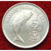 4528:  5 центов 1995 Фиджи