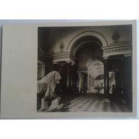 Открытка (фото) 1951 г. Ленинград. Государственный Эрмитаж. Зал античного искусства