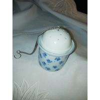 Чайное ситечко (6,5 см), керамика, фарфор.