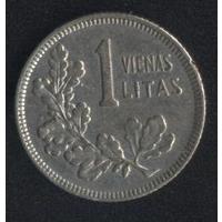 Литва 1 лит 1925 г. (*2). Сохран!!!