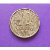 10 центов 2009 Литва #01