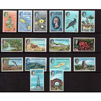 Сент-Крист.,Невис,Ангилья-1963,(Мих.138-153)  * (накл.) Полная серия