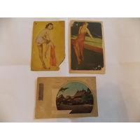Старые японские (корейские) открытки, открытки 40-х, Япония, Корея