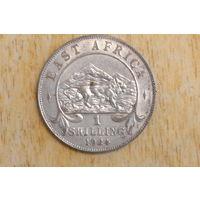 Восточная Африка 1 шиллинг 1924(серебро)