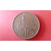 10 крон чехия 2010