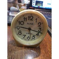 Часы-будильник Слава в работу.