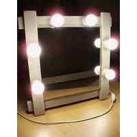 Зеркало гримерное (макияжное, театральное)