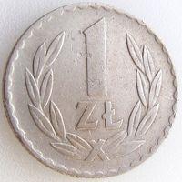Польша, 1 злотый 1949 года, Y#45, медь-никель