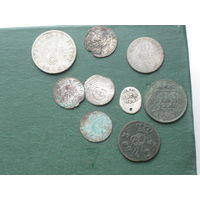 Кучка разных монеток