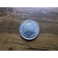 Нидерланды 10 центов 1967