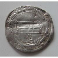 Дирхем халиф Харун аль Рашид ок.190г.х. Мадинат ас Салам (ныне Багдад) старая коллекция.
