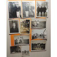 """Фото """"Эмигранты из Беларуси в США и Канаде"""", 1920-1930-е гг., 10 шт."""