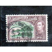 Тринидад и Тобаго. Ми-134. Залив горы Ирвина. Тобаго. Король Георг VI. 1941.