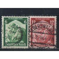 Германия Рейх 1935 Плебисцит в Сааре #566-7