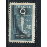 Турция Респ 1958 Промвыставка в Стамбуле #1609