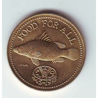 Уганда. 200 шиллингов 1995 г.  ФАО