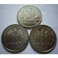 Польша, 100 злотых 1990 год.