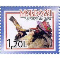 Рождество Молдавия Молдова 2011 **
