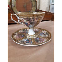 Чашка с блюдцем (чайная пара) Ренессанс
