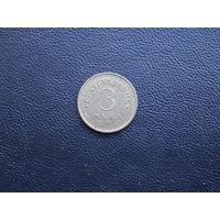 3 марки 1922. Эстония. С 1 рубля