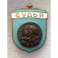 СУДЬЯ СПАРТАКИАДА НАРОДОВ СССР 1956 г.
