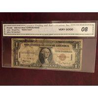 1 доллар 1935 года HAWAII сертификат CGA редкая