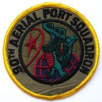 Шеврон 90-ой воздушной портовой эскадрильи ВВС США (распродажа коллекции