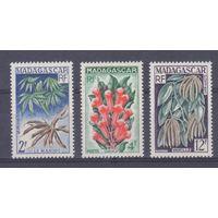 [1537] Мадагаскар 1957. Флора.Цветы.
