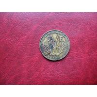 5 франков 1956 год Французская Западная Африка