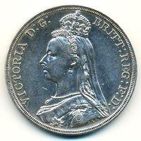 Великобритания. 1 крона 1887 г.