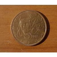 2 евроцента 2001 Франция