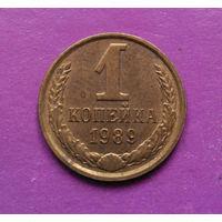 1 копейка 1989 года СССР #02