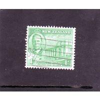Новая Зеландия. Ми-283. Король Георг v  . Дом парламента г.Веллингтон. 1946.