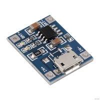 Зарядное устройство TP4056 контроллер зарядки аккумуляторов для 3.7 В Li-Pol и Li-Ion аккумуляторов 18650 и пр. вход микро USB