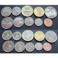 Зимбабве - набор из 10 монет