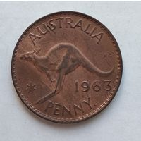 Австралия 1 пенни, 1963 3-13-25