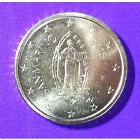 50 евроцентов Сан Марино 2018
