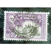 Тринидад и Тобаго. Ми-140. Таун Холл. Сан-Фернандо. Король Георг VI. 1941.