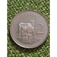 Лесото 5 лисенте 1979 год ( Мошвешве 2 )
