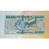 Сьерра-Леоне 10000 леоне 2010г.