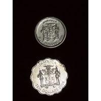 Ямайка 2 монеты 2005, 2014
