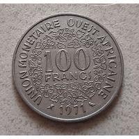 100 франков 1971 г. Западная Африка