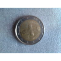 Кипр 2 евро  НА ОБМЕН.