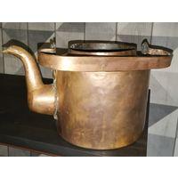 Медный чайник Российской империи 1878года периода русско-турецкой войны, торг